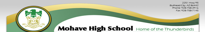 Mohave High School Banner
