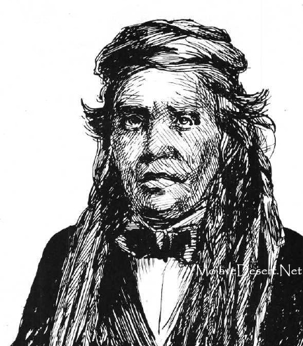 Picture of Mohave Indian